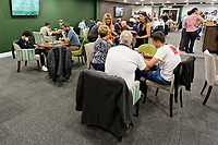 The Legends Lounge prior to the Sky Bet Championship match between Swansea City and Bristol City at the Liberty Stadium, Swansea, Wales, UK. Saturday 25 August 2018