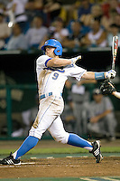 UCLA's Blair Dunlap in Game 6 of the NCAA Division One Men's College World Series on Monday June 21st, 2010 at Johnny Rosenblatt Stadium in Omaha, Nebraska.  (Photo by Andrew Woolley / Four Seam Images)