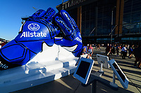 PHILADELPHIA, PA - AUGUST 29: Allstate during a game between onsorship v at Lincoln Financial Field on August 29, 2019 in Philadelphia, Pennsylvania.