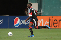 D.C. United defender Brandon McDonald (4) D.C. United defeated Montreal Impact 3-0 at RFK Stadium, Saturday June 30, 2012.