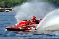 "Paul Scopinich, E-156 ""Sin"" (1975 Lloyd 280 class hydroplane)"