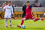Real Salt Lake midfielder Damir Kreilach (6) passes the ball against Los Angeles FC in the first half Saturday, March 10, 2018, during the Major League Soccer game at Rio Tiinto Stadium in Sandy, Utah. LAFC beat RSL 5-1. (© 2018 Douglas C. Pizac)