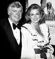 John Brown and wife Phyllis George 1982<br /> <br /> CAP/MPI/PHL/JB<br /> ©JB/PHL/MPI/Capital Pictures