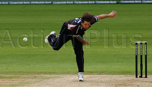 04.05.2012. Brit Oval, London, England.  Peter Trego of Somerset County Cricket..during the Clydesdale Bank Pro40 match between Surrey and Somerset  at The Brit Oval on May 04, 2012 in London, England.
