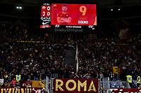 Nicolo Zaniolo of AS Roma portrait on the scoreboard <br /> Roma 27-10-2019 Stadio Olimpico <br /> Football Serie A 2019/2020 <br /> AS Roma - AC Milan<br /> Foto Andrea Staccioli / Insidefoto