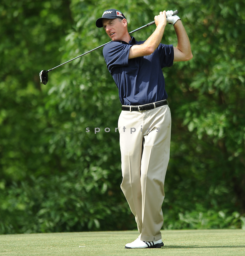 JIM FURYK,during a practice round of the Quail Hollow Championship, on April 29, 2009 in Charlotte, NC.