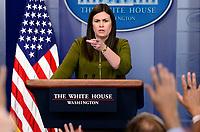 JUL 18 Sarah Huckabee Sanders Daily Briefing