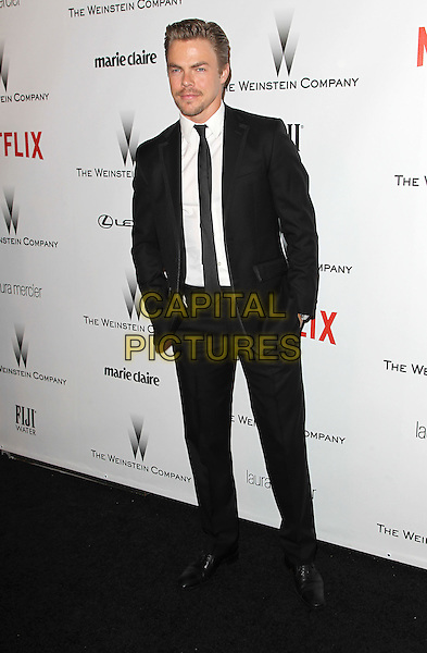 11 January 2015 - Beverly Hills, California - Derek Hough. The Weinstein Company and Netflix 2015 Golden Globes After Party celebrating the 72nd Annual Golden Globe Awards held at Robinsons May Lot.  <br /> CAP/ADM/KB<br /> &copy;KB/ADM/Capital Pictures
