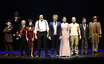 The cast of 'The Illusionists' during a press preview of 'The Illusionists - Turn of the Century' at The Theater Center on November 29, 2016 in New York City.