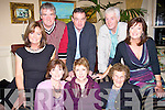 Enjoying the damien O'carroll benefit dance in the Listowel Arms Hotel on Friday night were Front l-r, Moria O'Donovan, Listowel, Phyllis Leaht, NewYork and Listowel, Nora Mary O'Hanlon, Bridie Trant, Lucia Finnerty, Listowel,   Back l-r Joe O' Mahony, John Finnerty and Raymond, O'Mahony, Listowel..   Copyright Kerry's Eye 2008
