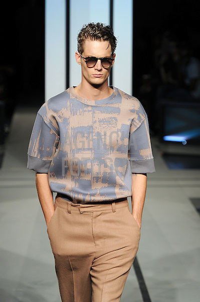 Nova Iorque, EUA &sbquo;09/2014 - Desfile de Robert Geller durante a Semana de moda de Nova Iorque  -  Verao 2015. <br /> <br /> Foto: FOTOSITE