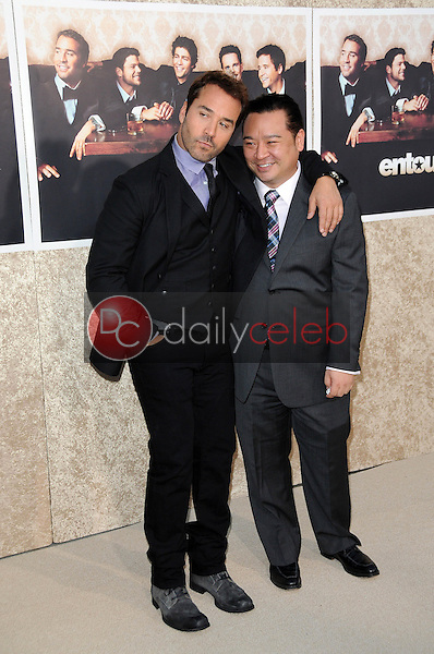 Jeremy Piven and Rex Lee<br />at the Los Angeles Premiere of 'Entourage' Season Six. Paramount Theater, Hollywood, CA. 07-09-09<br />Dave Edwards/DailyCeleb.com 818-249-4998