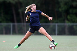 CARY, NC - JUNE 22: Taylor Otto. The North Carolina Courage held a training session on June 22, 2017, at WakeMed Soccer Park Field 7 in Cary, NC.