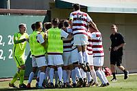 Stanford, CA:  Stanford Men's Soccer versus Oregon State at Cagan Stadium.
