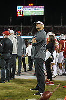 Stanford, CA - November 18, 2017: Matt Doyle, director of  Football, during the Stanford vs California football game Saturday night at Stanford Stadium.<br /> <br /> The Stanford Cardinal defeated the California Golden Bears 17 to 14.