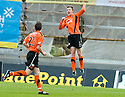 05/02/2011   Copyright  Pic : James Stewart.sct_jsp010_hamitlon_v_dundee_utd  .::  PAUL DIXON CELEBRATES AFTER HE SCORES DUNDEE UTD'S SECOND  ::.James Stewart Photography 19 Carronlea Drive, Falkirk. FK2 8DN      Vat Reg No. 607 6932 25.Telephone      : +44 (0)1324 570291 .Mobile              : +44 (0)7721 416997.E-mail  :  jim@jspa.co.uk.If you require further information then contact Jim Stewart on any of the numbers above.........