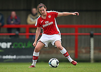 Helen Lander of Arsenal - Arsenal Ladies vs Sparta Prague - UEFA Women's Champions League at Boreham Wood FC - 11/11/09 - MANDATORY CREDIT: Gavin Ellis/TGSPHOTO - Self billing applies where appropriate - Tel: 0845 094 6026