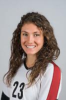 STANFORD, CA - AUGUST 13, 2013 - Jordan Burgess of the Stanford Women's Volleyball team.