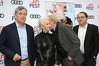 HOLLYWOOD, CA - NOVEMBER 12: Michael Barker, Helen Mirren, Donald Sutherland, Tom Bernard, at The Leisure Seeker Special Screening During AFI Fest 2017 at the Egyptian Theatre in Hollywood, California on November 12, 2017. <br /> CAP/MPI/FS<br /> &copy;FS/MPI/Capital Pictures