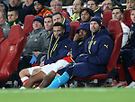 Arsenal's Alex Iwobi looks on dejected after his own goal during the Champions League group A match at the Emirates Stadium, London. Picture date November 23rd, 2016 Pic David Klein/Sportimage