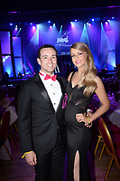 Stephen Ryan and Orla Jennings Leixlip Musical Society pictured at the Association of Irish Musical Societies annual awards in the INEC, KIllarney at the weekend.<br /> Photo: Don MacMonagle -macmonagle.com<br /> <br /> <br /> <br /> repro free photo from AIMS<br /> Further Information:<br /> Kate Furlong AIMS PRO kate.furlong84@gmail.com