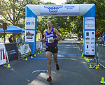 Dominic Henriquez finished third in the 51st Annual Journal Jog in Idlewild Park in Reno on Sunday, Sept. 8, 2019.