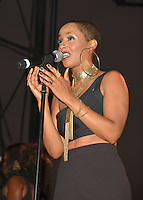 LOS ANGELES, CA -JULY 23: Singer Vivian Green performs at the 1st Annual Los Angeles Soul Music Festival at the Autry in Griffith Park on July 23, 2016 in Los  Angeles, California. Credit: Koi Sojer/Snap'N U Photos/MediaPunch
