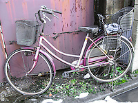Derelict Bike in Ota, Japan 2014.