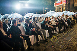 Opening Ceremony of the Mission Hills Celebrity Pro-Am on 24 October 2014, in Haikou, China. Photo by Xaume Olleros / Power Sport Images
