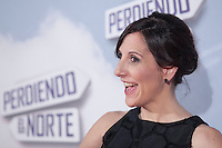 Actress Maslena Alterio poses during `Perdiendo el Norte´ film premiere photocall in Madrid, Spain. March 05, 2015. (ALTERPHOTOS/Victor Blanco) /NORTEphoto.com