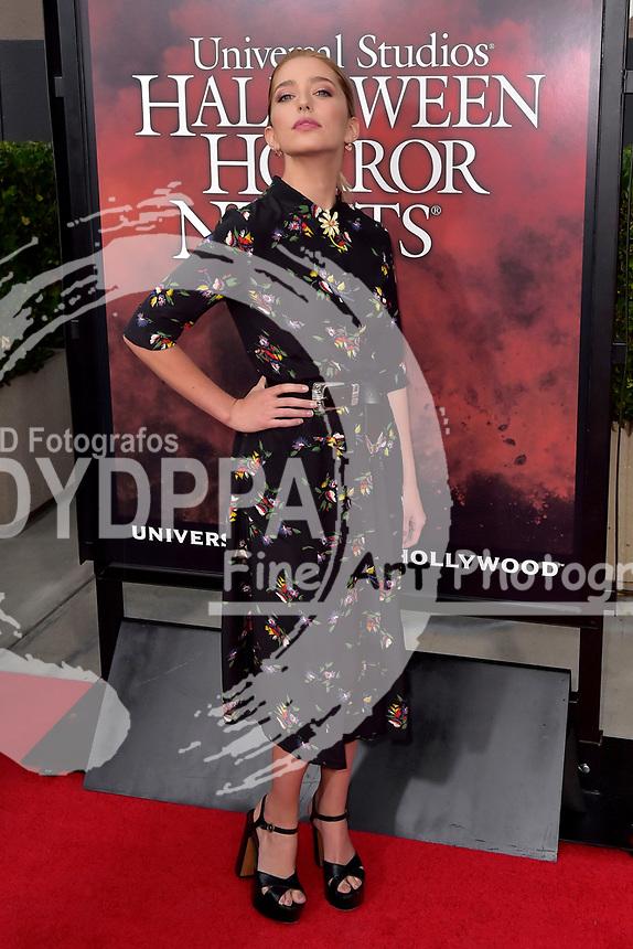 Jessica Rothe bei der Eröffnung der 'Halloween Horror Nights' in den Universal Studios. Universal City, 15.09.2017