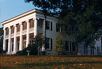 "Gov. Allan Shivers' term: central heating and air conditioning are installed during Gov. Allan Shivers' term (1949-1957). Shivers also brought the first television set to the mansion two years later. Before his election as governor in 1946, Shivers fought in World War II, serving in North Africa, Italy, France and Germany. Shivers served as governor for more than seven years, making him Texas' longest-serving governor until Gov. Rick Perry broke that record. Shivers is most famous for his insistence that state, rather than federal, authority extended over off-shore drilling operations in Texas, known as the ""Tidelands"" issue. He broke with the Democratic Party over the matter and supported Republican presidential candidate Dwight D. Eisenhower in 1952. Accused of disloyalty to the Democratic Party, he lost popularity in his last years as governor — and wasn't helped by his opposition to Brown v. Board of Education, which legally ended segregation."