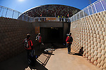Media access to Soccer city during the 2010 World Cup Soccer match between Argentina vs Korea Republic played at Soccer City in Johannesburg, South Africa on 17 June 2010.  Photo: Gerhard Steenkamp/Cleva Media