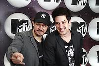SÃO PAULO, SP - 24.09.2013: FESTA LANÇAMENTO MTV -  PJ e Rogério Flausino durante a Festa de Lançamento da MTV, a festa ocorre na Casa Preta, região sul de São Paulo, nesta terça-feira (24).  (Foto: Marcelo Brammer/Brazil Photo Press)