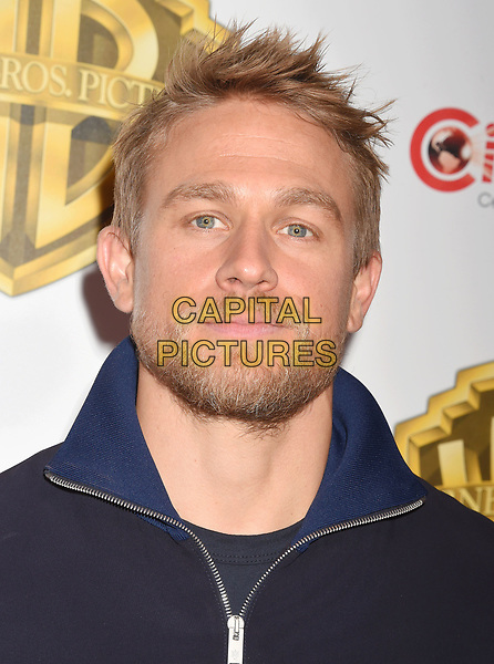 LAS VEGAS, CA - MARCH 29: Actor Charlie Hunnam arrives at CinemaCon 2017 Warner Bros. Pictures Invites You to ?The Big Picture?, an Exclusive Presentation of our Upcoming Slate at The Colosseum at Caesars Palace during CinemaCon, the official convention of the National Association of Theatre Owners, on March 29, 2017 in Las Vegas, Nevada.<br /> CAP/ROT/TM<br /> &copy;TM/ROT/Capital Pictures