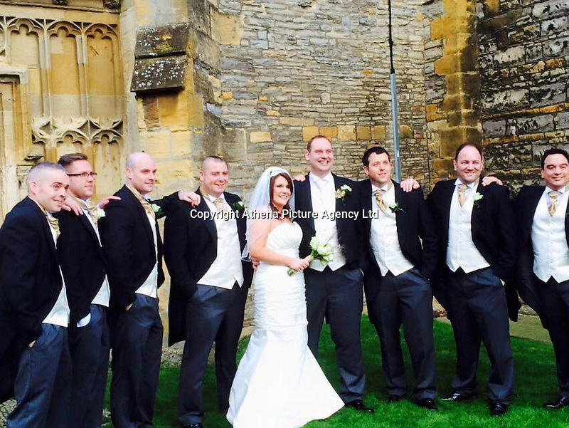 "COPY BY TOM BEDFORD<br /> Pictured: Mark and Jodie Ballingall (C) on their wedding day, image taken from open facebook page<br /> Re: A married couple had their first baby on their joint birthday - against odds of 48 million-to-1.<br /> Baby Libbie arrived on the day her parents Jodie and Mark Ballingall were celebrating their birthdays.<br /> Proud Jodie, 32, said: ""It is an amazing co-incidence, Libbie is the best birthday present we could ever have.<br /> ""She arrived nine days late so it's as if she was waiting to pop out on our birthdays.""<br /> Libbie was due to arrive on July 23 but was born on August 1 weighing in at 6lb 3ozs.<br /> It means the family from Evesham, Worcs, will have a triple birthday party for years to come.<br /> Jodie said: ""It was amazing that Mark and I have the same birthday, but now there's three of us sharing a special day."