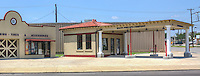 This filling station was built in 1922 by Waite Phillips. The building has been restored by the Sapulpa Historical Society and is currently used as a museum.  The museum houses automobiles from the 1920s and is located one block off historic Route 66.