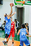 Wills Wallace #44 of Fukien Basketball Team goes to the basket against the SCAA during the Hong Kong Basketball League game between SCAA and Fukien at Southorn Stadium on June 01, 2018 in Hong Kong. Photo by Yu Chun Christopher Wong / Power Sport Images