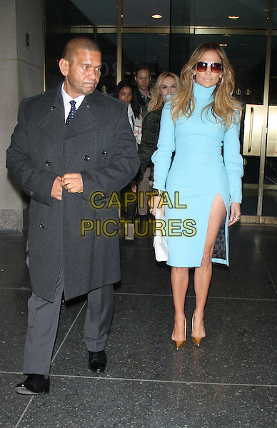 NEW YORK, NY - NOVEMBER 4: Benny Medina and Jennifer Lopez at NBC's Today Show promoting her new book True Love on November 4, 2014 in New York City.  <br /> CAP/MPI/RW<br /> &copy;RW/ MediaPunch/Capital Pictures