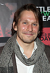 McCaleb Burnett attending the Opening Night Performance of The Rattlestick Playwrights Theater Production of 'A Summer Day' at the Cherry Lane Theatre on 10/25/2012 in New York.
