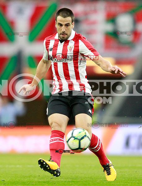 Athletic Club de Bilbao's Benat Etxebarria during Europa League Third Qualifying Round, 2nd leg. April 5,2012. (ALTERPHOTOS/Acero) /NortePhoto.com