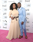 Oprah Winfrey and David Oyelowo attends 2015 Film Independent Spirit Awards held at Santa Monica Beach in Santa Monica, California on February 21,2015                                                                               © 2015Hollywood Press Agency