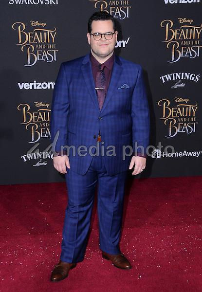 "02 March 2017 - Hollywood, California - Josh Gad. Los Angeles premiere of Disney's ""Beauty and the Beast' held at El Capitan Theatre. Photo Credit: Birdie Thompson/AdMedia"
