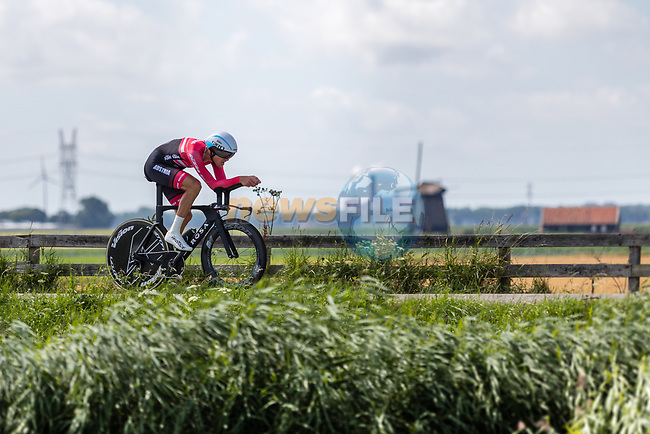 Matthias Brändle (AUT) in action during the 2019 ITT Elite Men European Championships, 8th August 2019. Photo by Thomas van Bracht / PelotonPhotos.com | All photos usage must carry mandatory copyright credit (Peloton Photos | Thomas van Bracht)