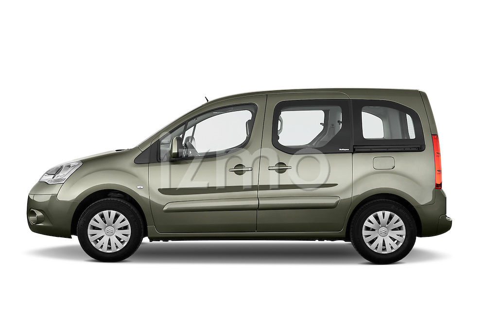 Driver side profile view of a 2008 - 2014 Citroen BERLINGO Multispace 5-Door Mini Mpv 2WD