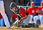 7 March 2011: Houston Astros' catcher Brian Esposito in action during a Spring Training game against the Washington Nationals at Space Coast Stadium in Viera, Florida. The Nationals defeated the Astros 14-9 in Grapefruit League action. Mandatory Credit: Ed Wolfstein Photo