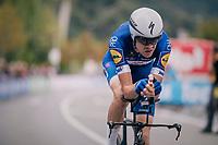 Laurens De Plus (BEL/QuickStep Floors) rolling in<br /> <br /> UCI MEN&lsquo;S TEAM TIME TRIAL<br /> Ötztal to Innsbruck: 62.8 km<br /> <br /> UCI 2018 Road World Championships<br /> Innsbruck - Tirol / Austria
