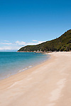 New Zealand South Island, scenic view at Tonga Quarry Cove along the coast in Abel Tasman National Park. Photo copyright  Lee Foster.