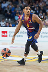 FC Barcelona Lassa Phil Pressey during Turkish Airlines Euroleague match between Real Madrid and FC Barcelona Lassa at Wizink Center in Madrid, Spain. December 14, 2017. (ALTERPHOTOS/Borja B.Hojas)