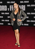 "HOLLYWOOD, CA - NOVEMBER 04: Tia Carrere attends the Premiere of FOX's ""Ford V Ferrari"" at TCL Chinese Theatre on November 04, 2019 in Hollywood, California.<br /> CAP/ROT/TM<br /> ©TM/ROT/Capital Pictures"